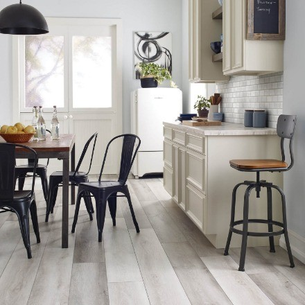 Farm house Kitchen Flooring | Messina's Flooring
